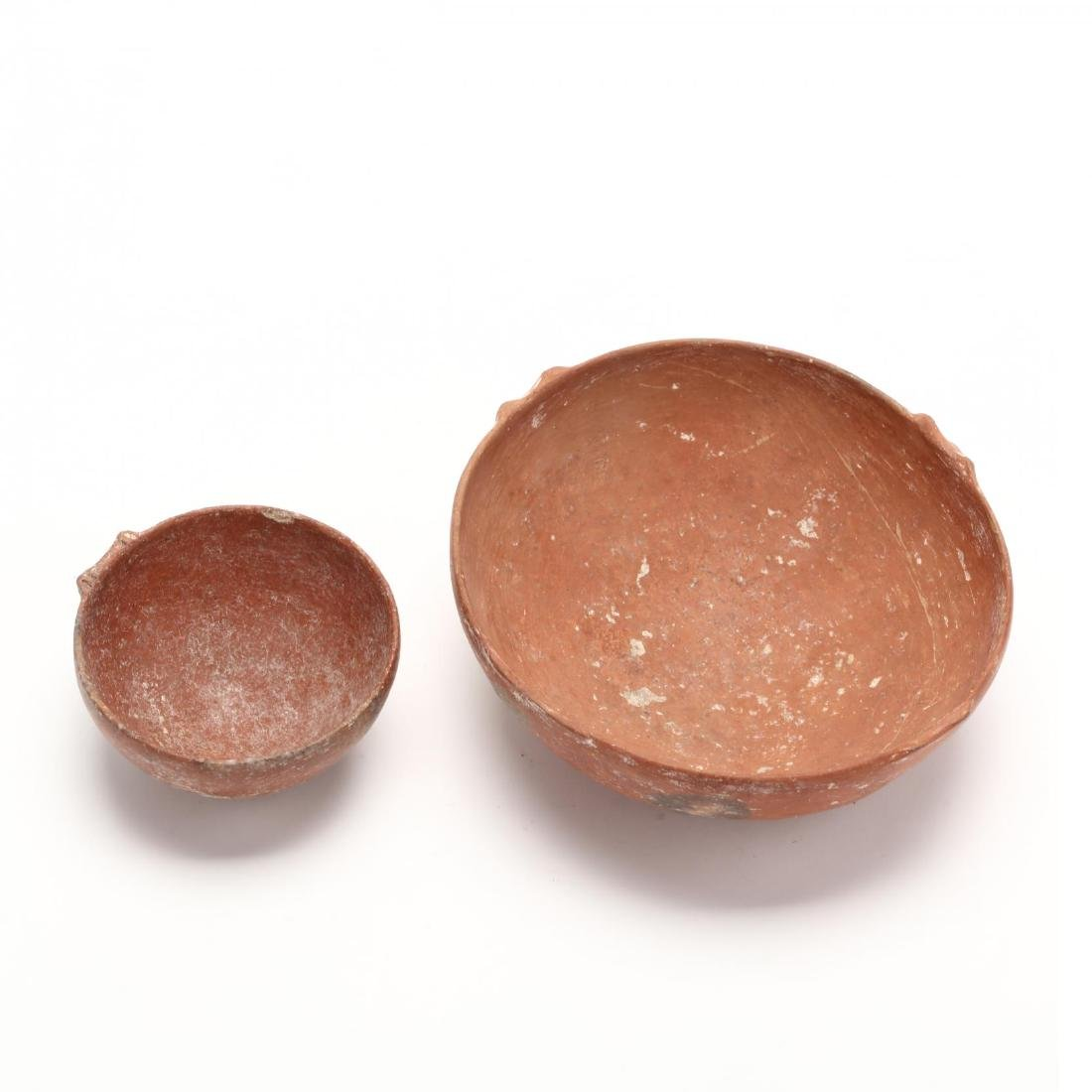 Two Cypriot Early Bronze Age Polished Red Ware Bowls - 2