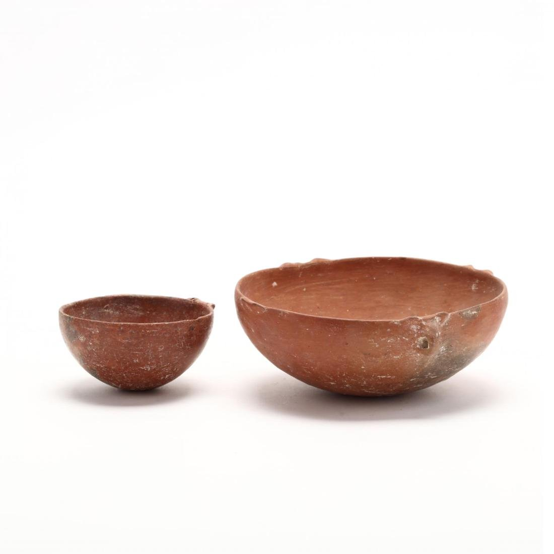 Two Cypriot Early Bronze Age Polished Red Ware Bowls - 3