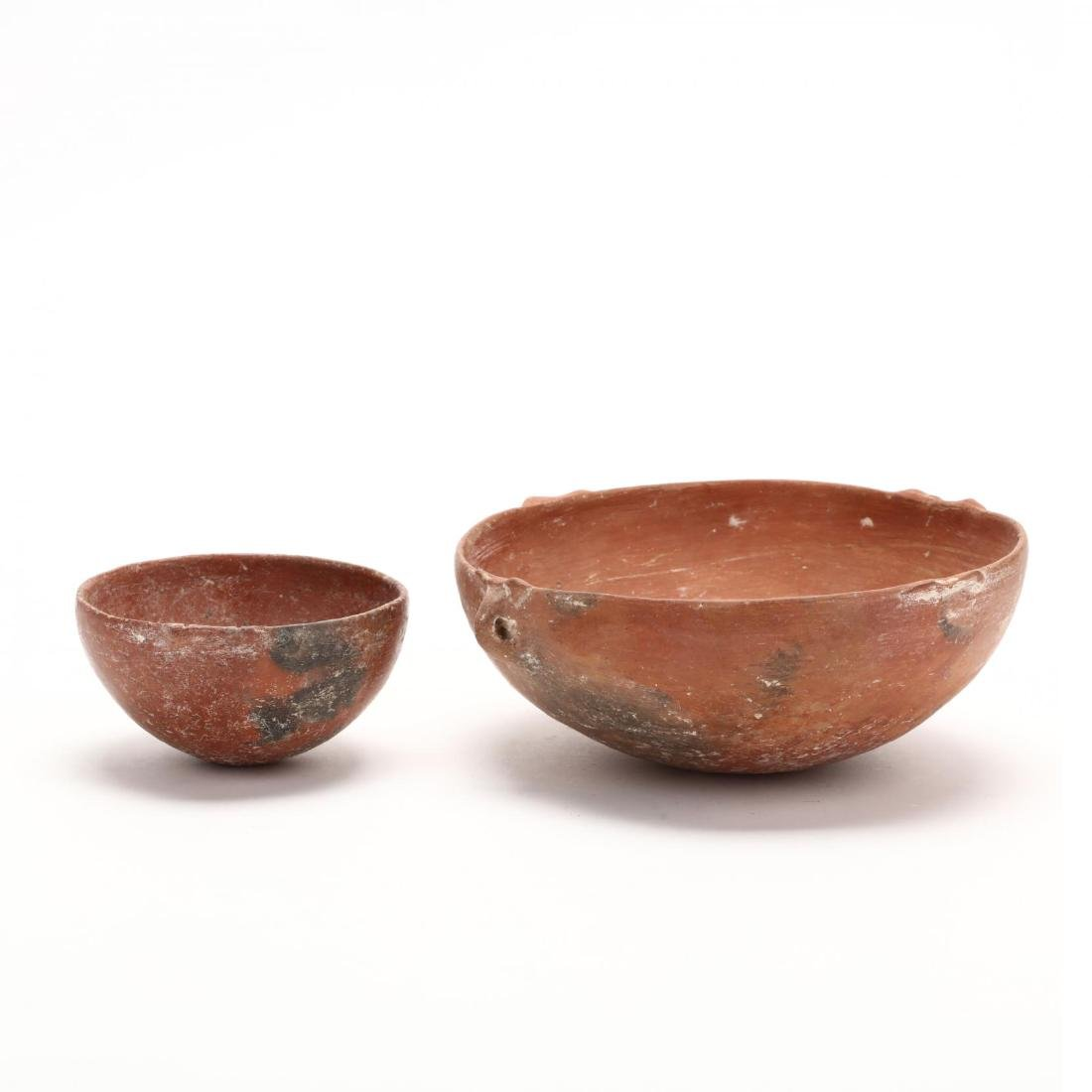 Two Cypriot Early Bronze Age Polished Red Ware Bowls - 4