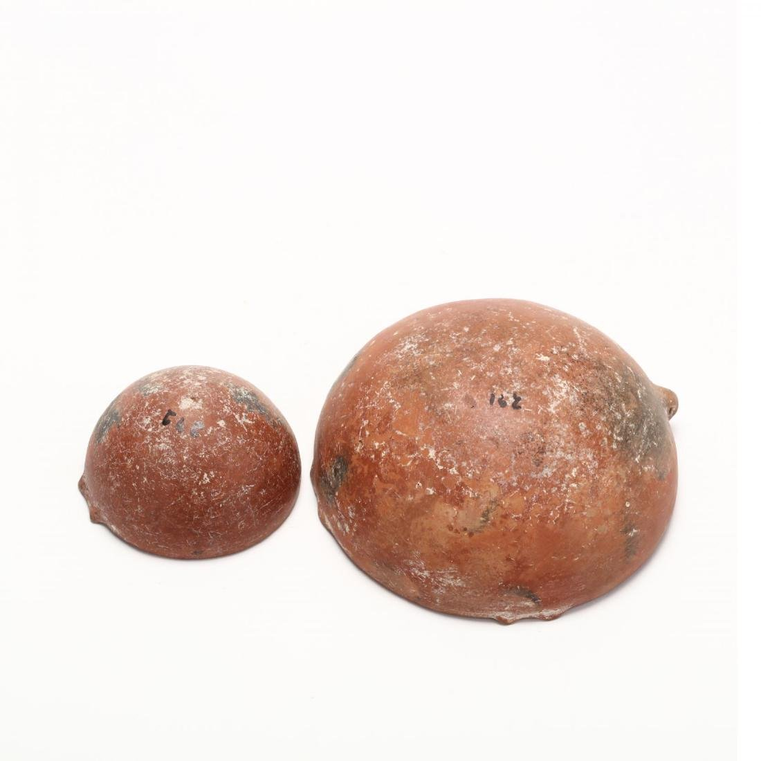 Two Cypriot Early Bronze Age Polished Red Ware Bowls - 5