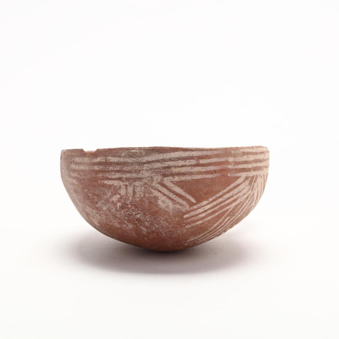 Cypriot Middle Bronze Age Red Ware Milk Bowl - 4