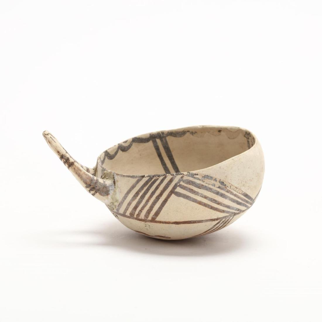 Cypriot Middle Bronze Age White Painted Ware Bowl or - 5