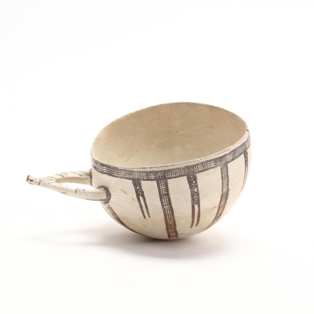 Cypriot Middle Bronze Age White Painted Ware Bowl - 5