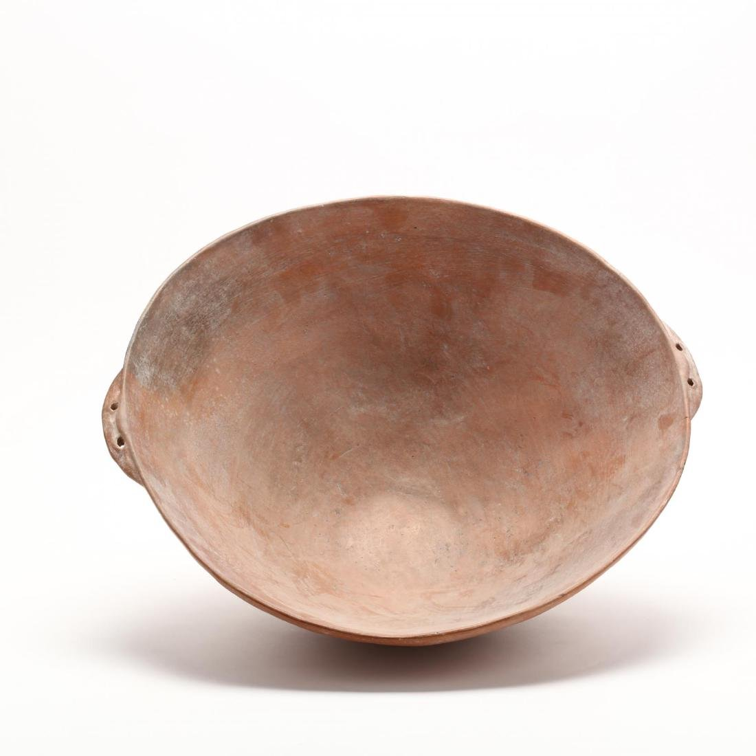 Cypriot Bronze Age Large Polished Red Ware Bowl - 2