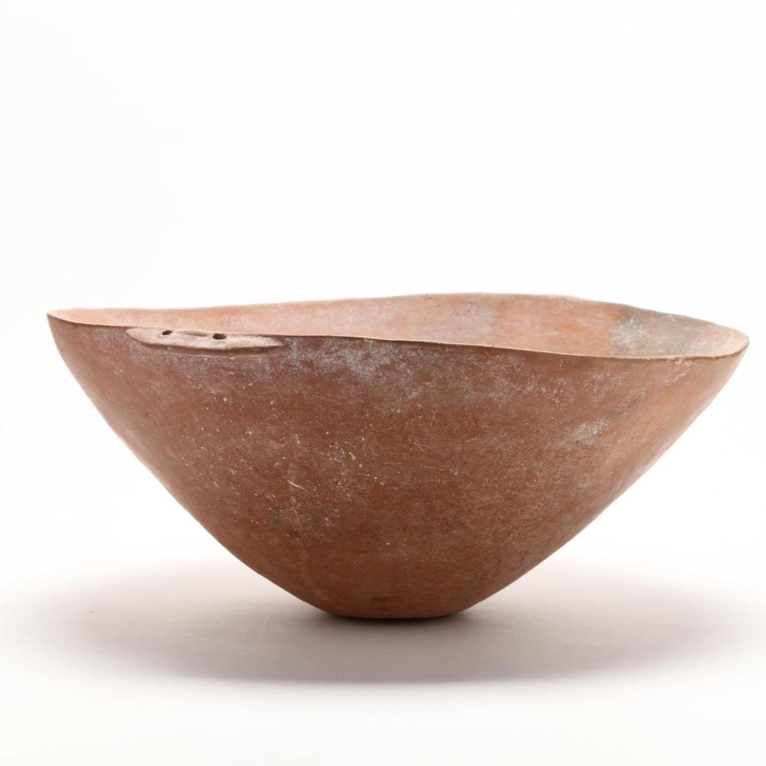 Cypriot Bronze Age Large Polished Red Ware Bowl - 4