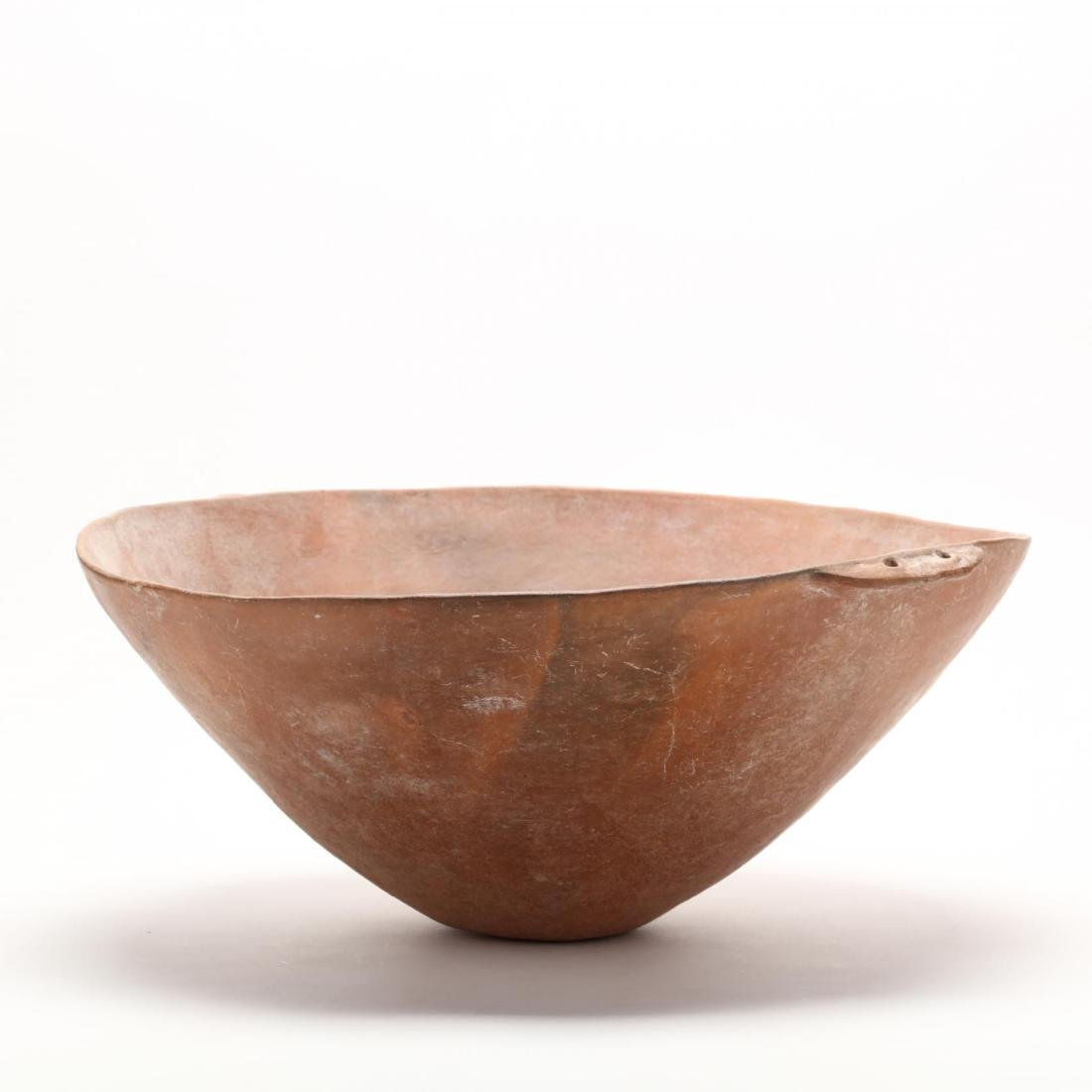 Cypriot Bronze Age Large Polished Red Ware Bowl - 5