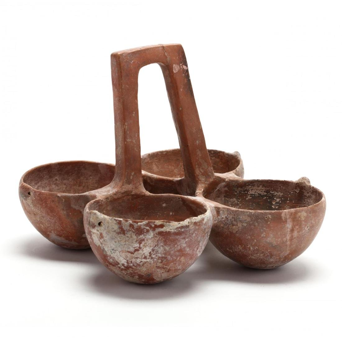 Cypriot Early Bronze Age Four-Bowl Hanging Server