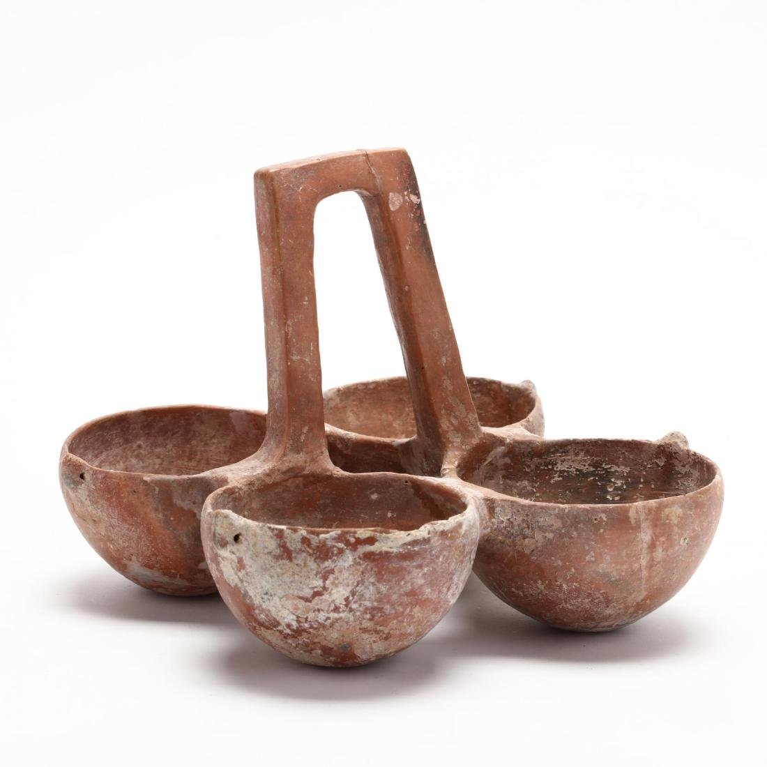 Cypriot Early Bronze Age Four-Bowl Hanging Server - 2