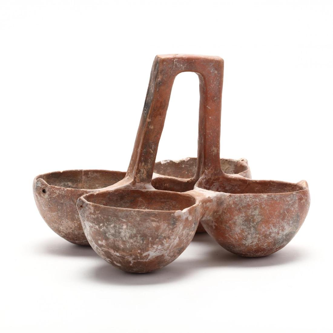 Cypriot Early Bronze Age Four-Bowl Hanging Server - 4