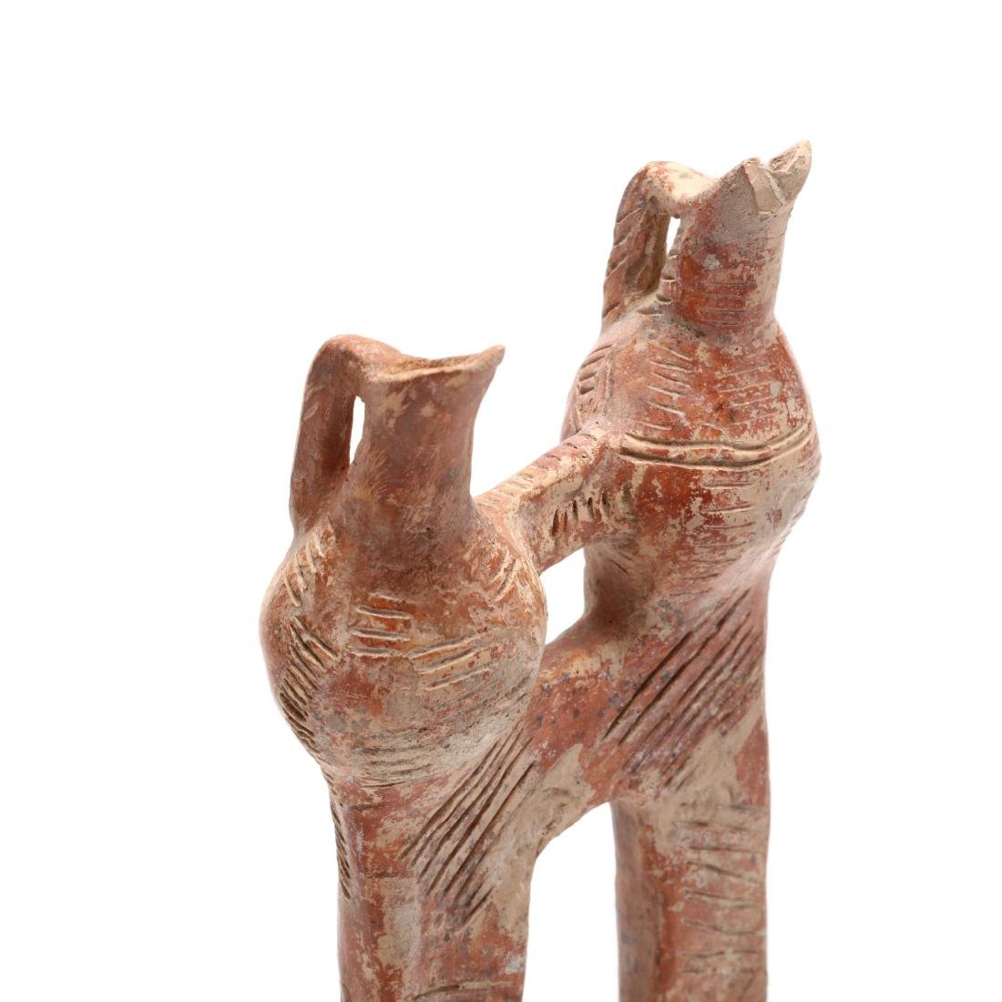 Cypriot Polished Red Ware Multi-Unit Vessel - 3