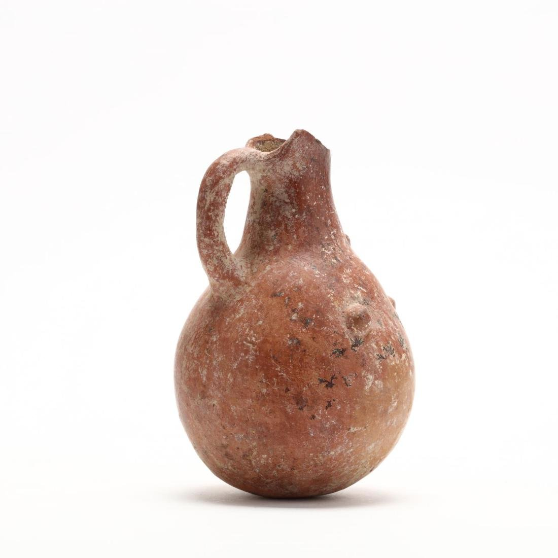 Cypriot Early Bronze Age Polished Red Ware Jug - 4