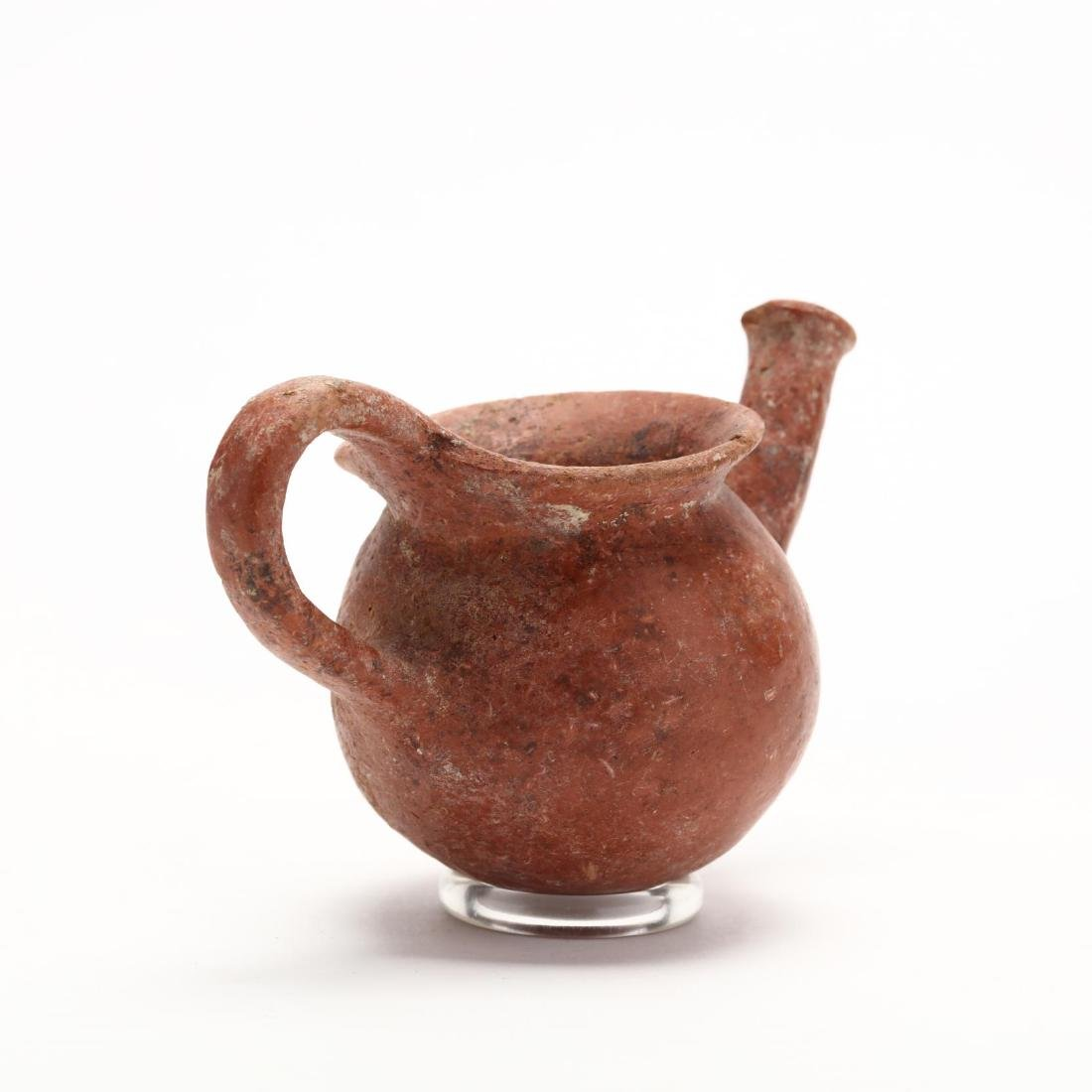 Cypriot Early Bronze Age Polished Red Ware Vessel - 4