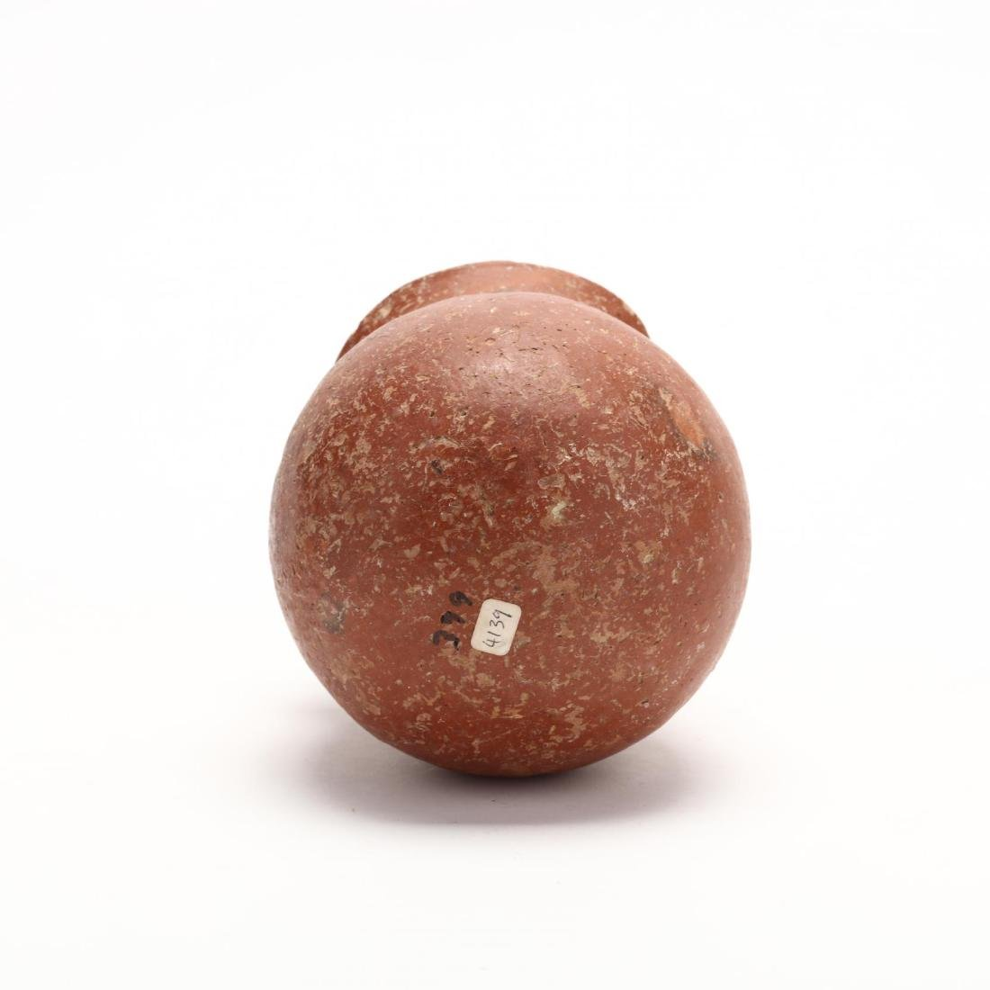 Cypriot Middle Bronze Age Polished Red Ware Jar - 5