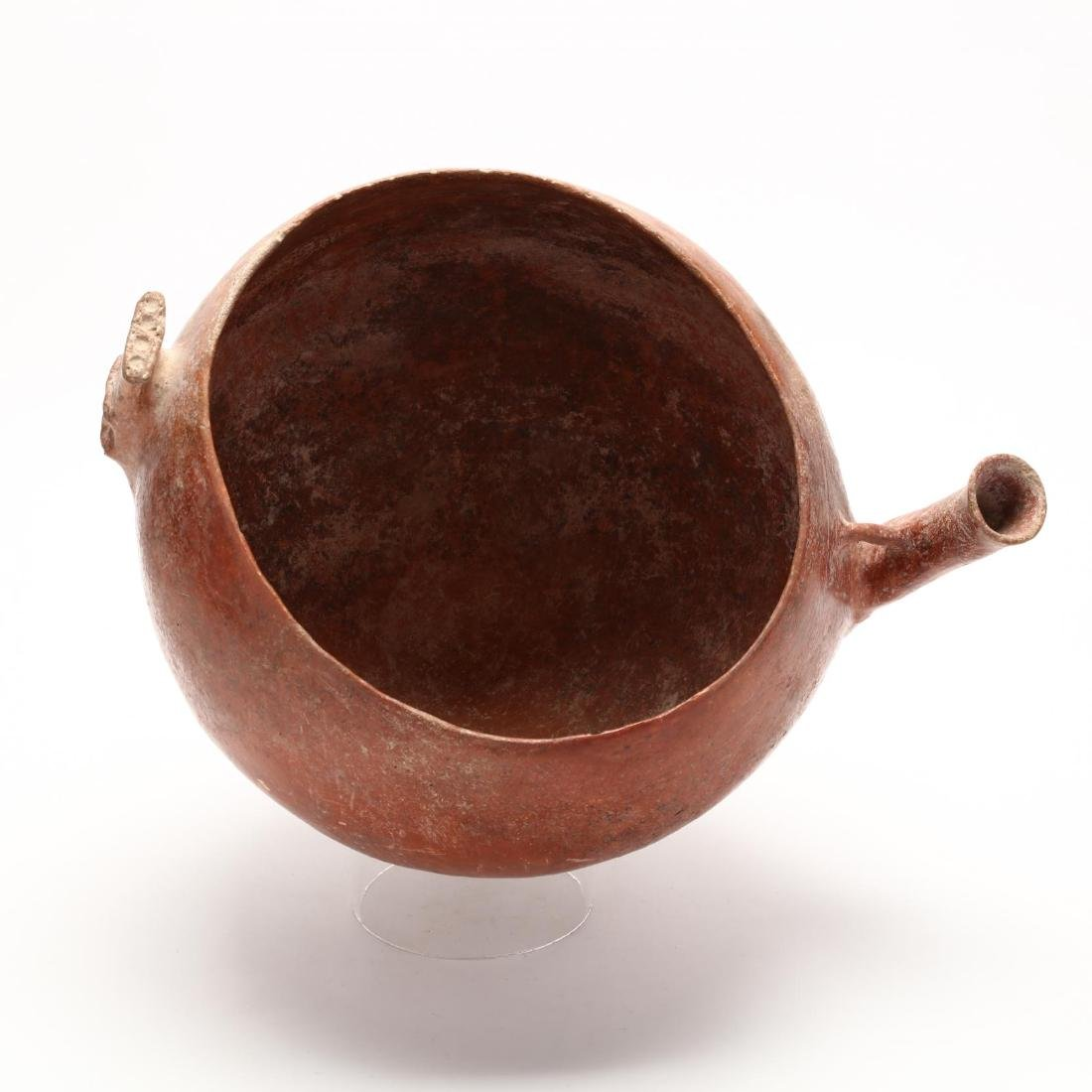Cypriot Bronze Age Large Polished Red Ware Bowl With - 3