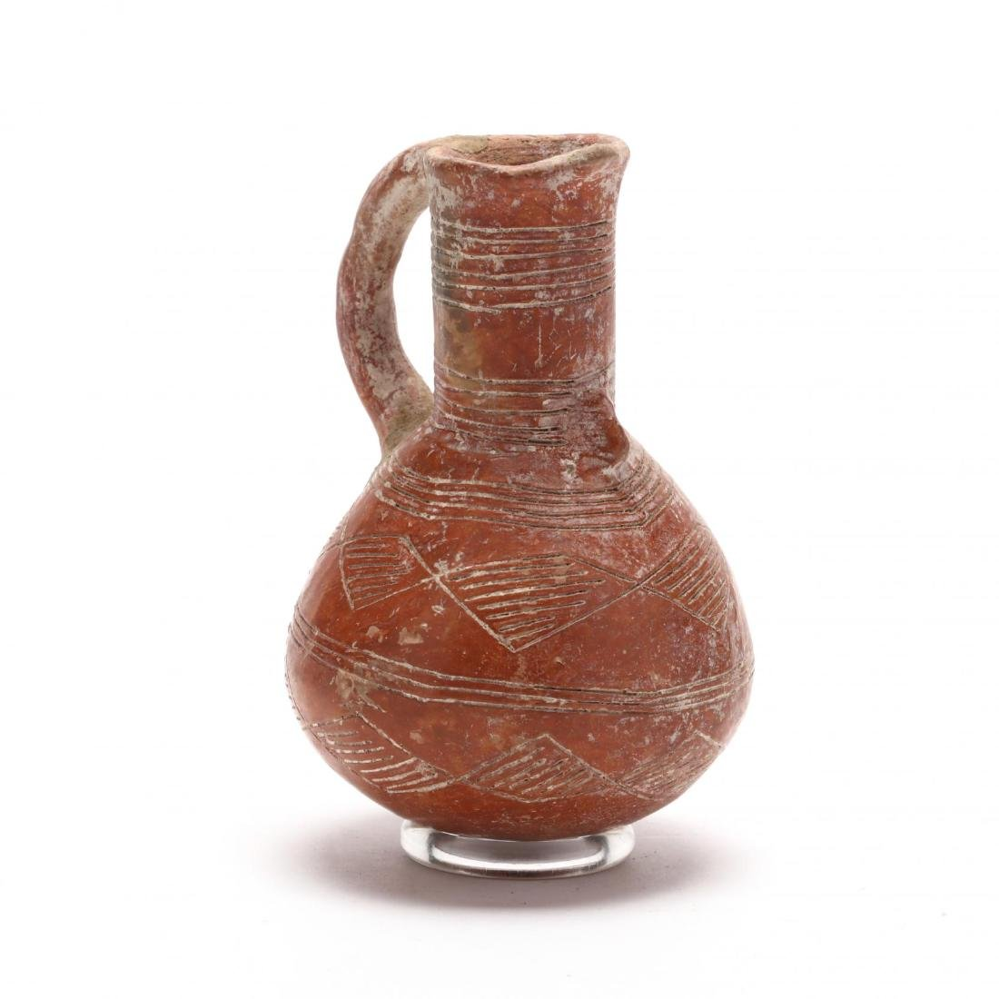 Cypriot Early Bronze Age Polished Red Ware Juglet