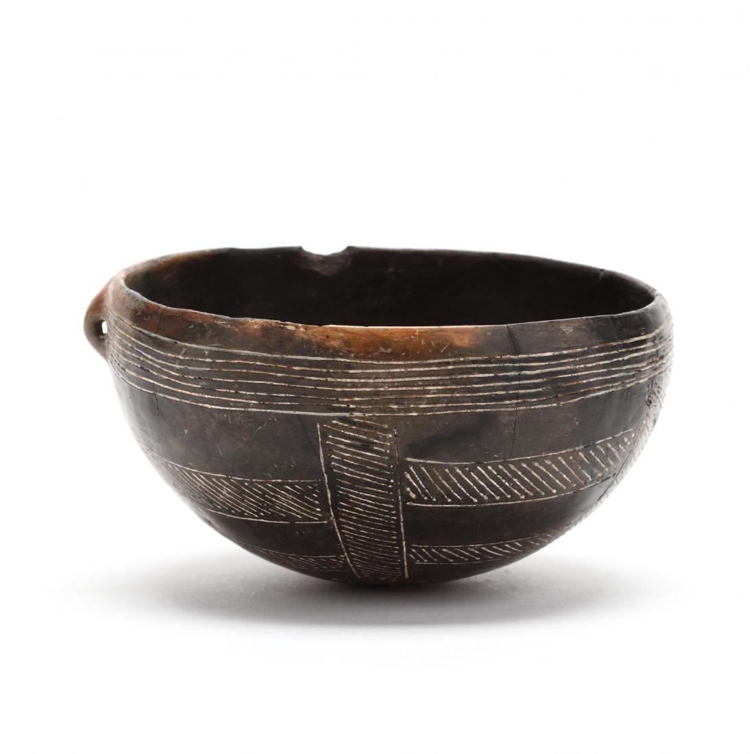 Cypriot Early Bronze Age Polished Black Ware Bowl