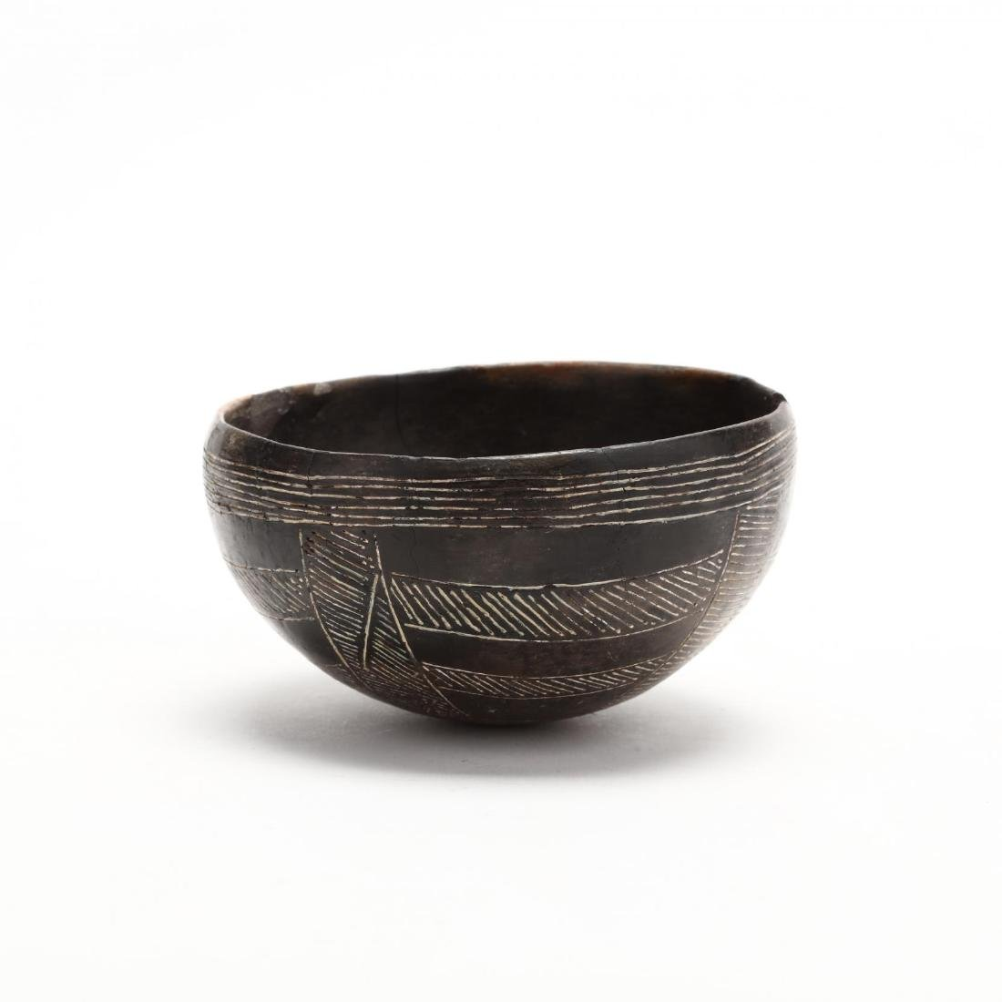 Cypriot Early Bronze Age Polished Black Ware Bowl - 4