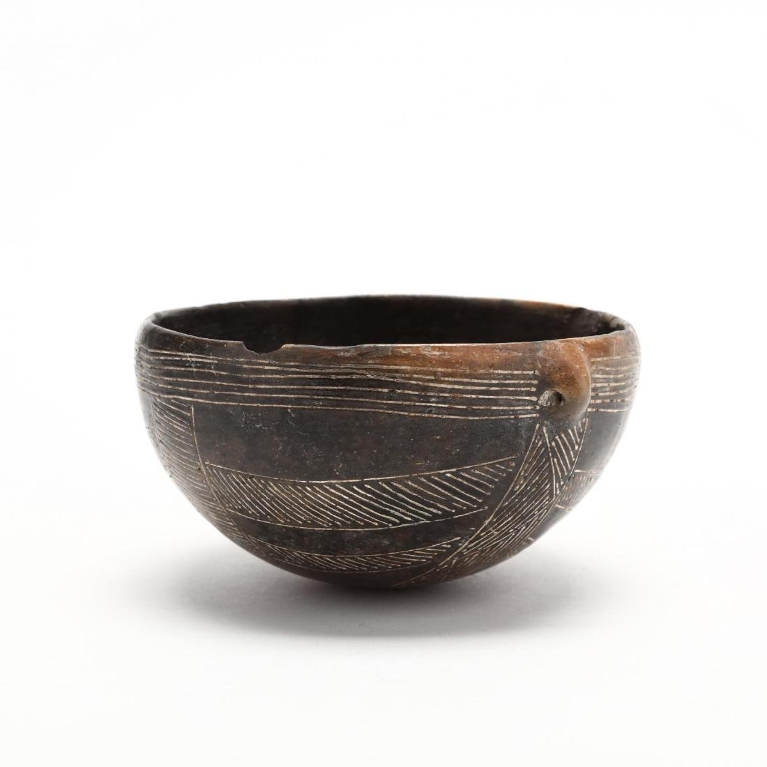 Cypriot Early Bronze Age Polished Black Ware Bowl - 5