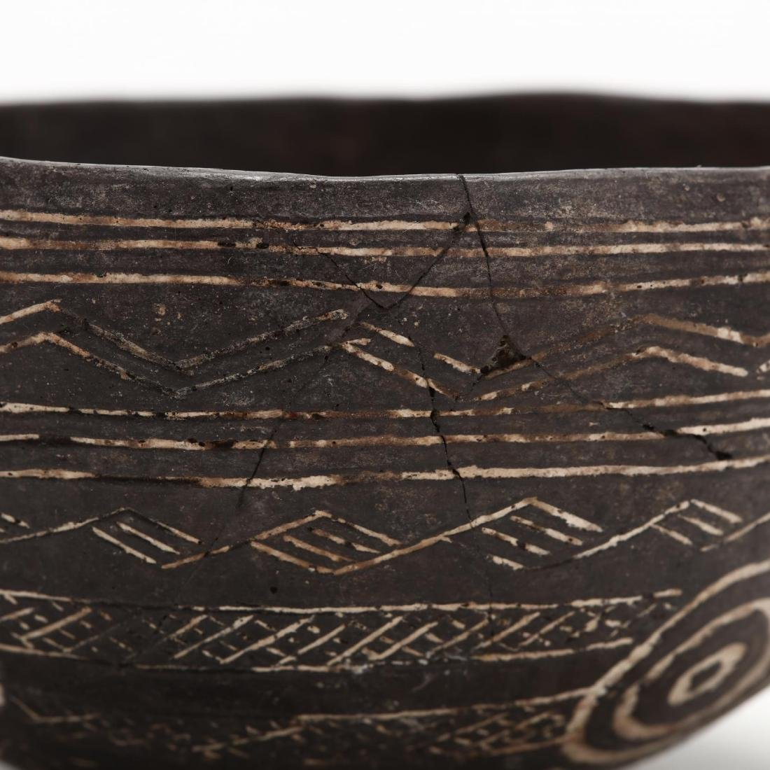 Cypriot Early Bronze Age Polished Black Ware Bowl - 3