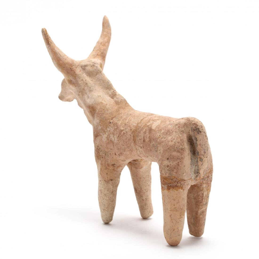 Cypriot Late Bronze Age Bull Figurine - 3