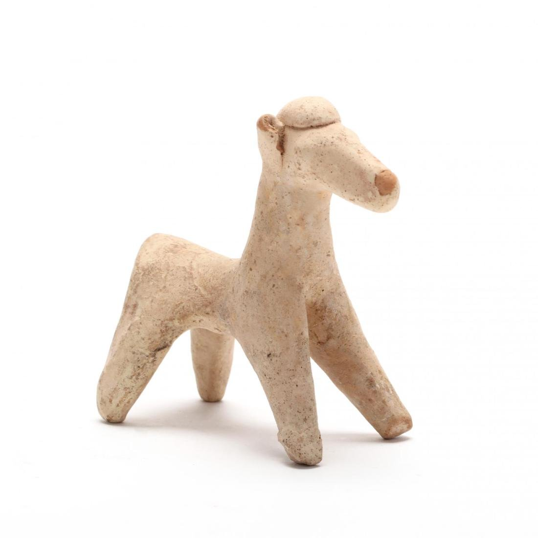 Cypro-Geometric White Ware Horse