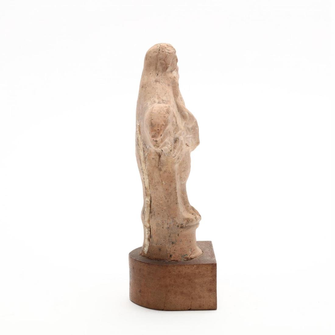 Cypriot Molded Hellenistic Terracotta Sculpture - 4