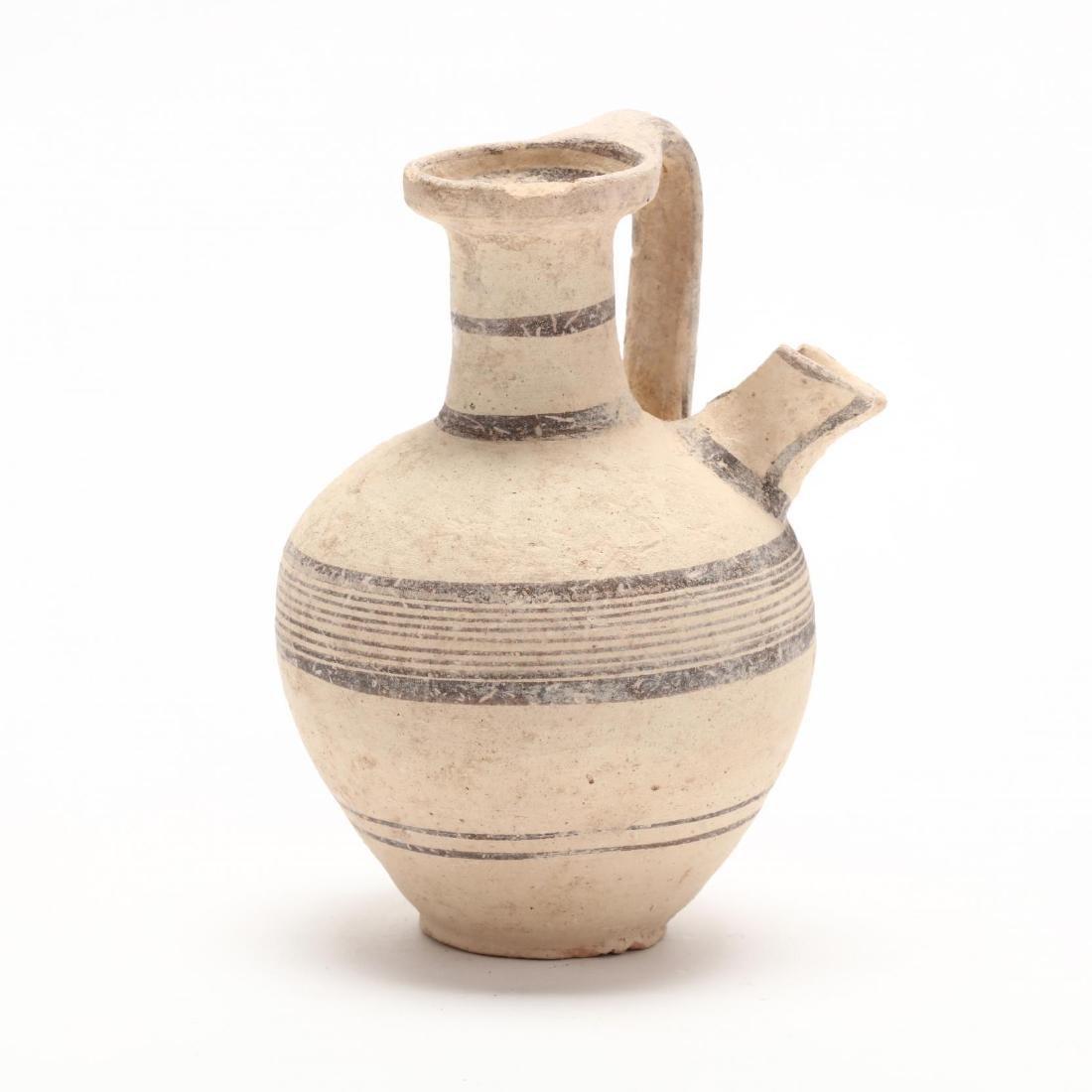 Cypro-Geometric Strainer Jar