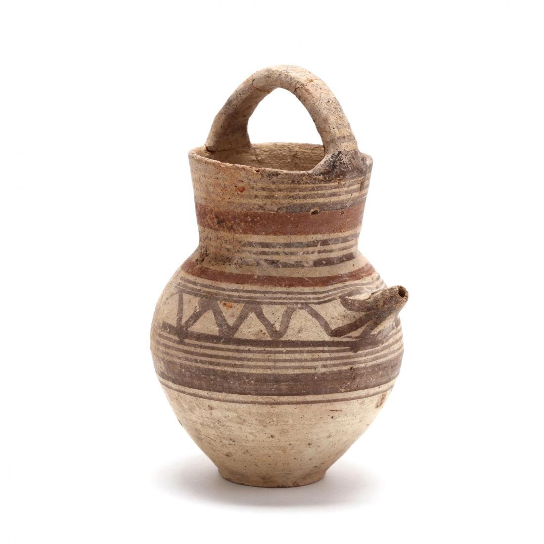 "Cypro-Arcahic ""Basket Handled"" Oinochoe"