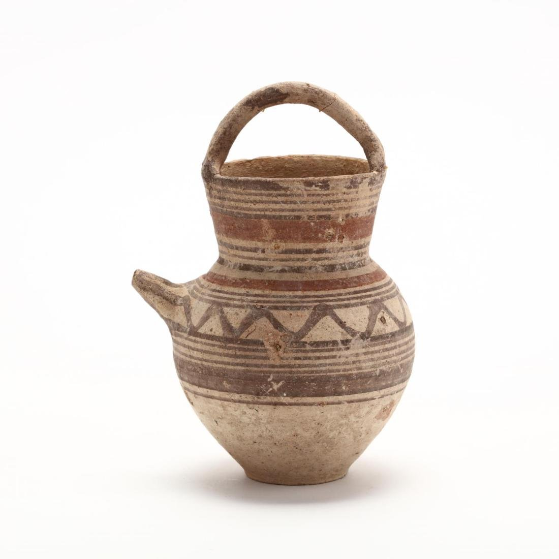 "Cypro-Arcahic ""Basket Handled"" Oinochoe - 3"