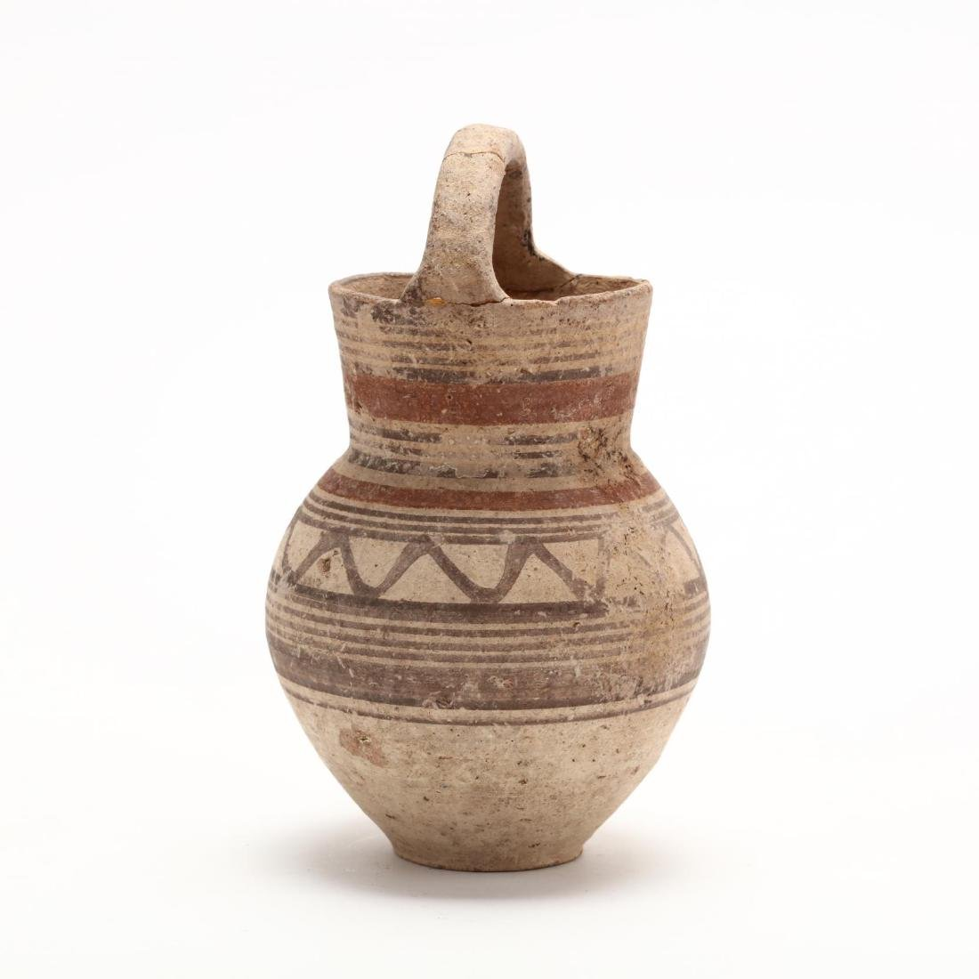 "Cypro-Arcahic ""Basket Handled"" Oinochoe - 4"