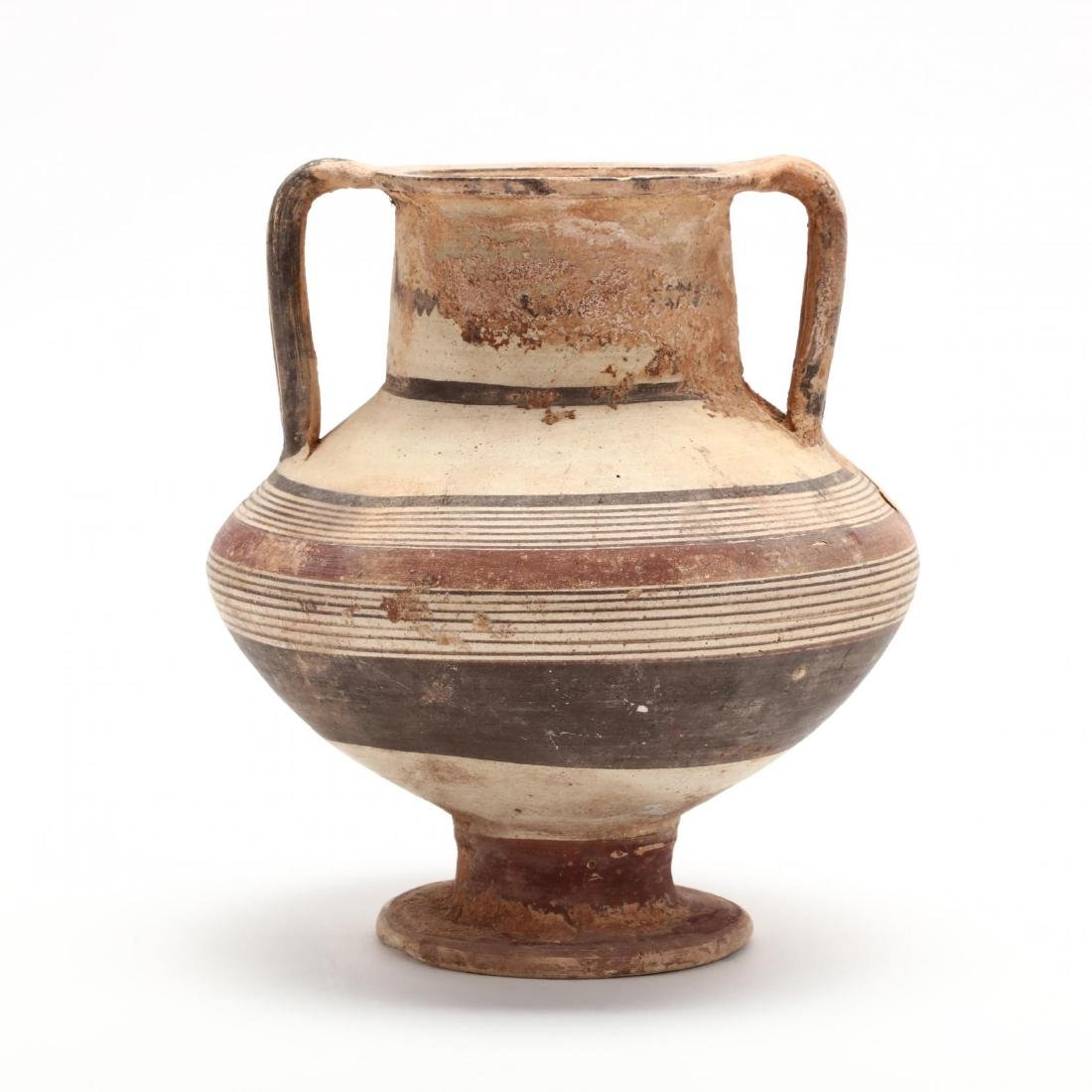 Cypro-Archaic Footed Vase