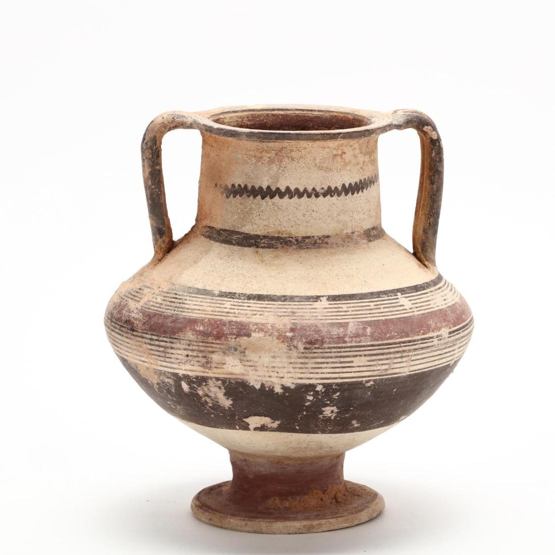 Cypro-Archaic Footed Vase - 4