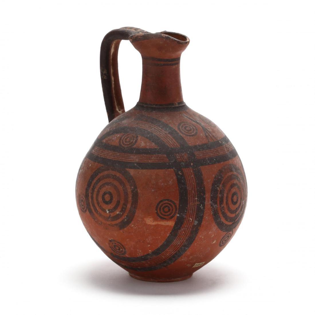 Cypro-Archaic Red Ware Jug, Ex. Cesnola Collection