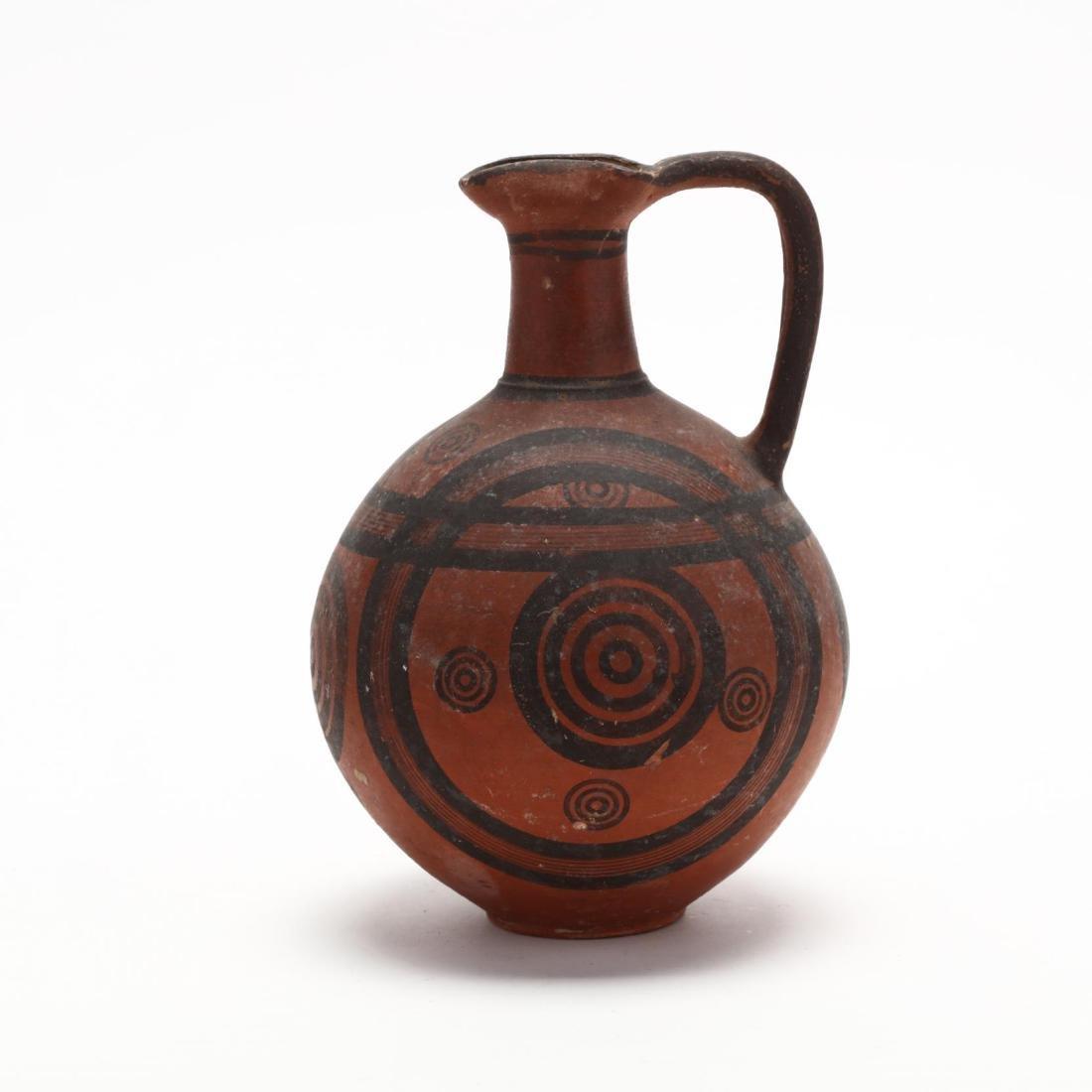 Cypro-Archaic Red Ware Jug, Ex. Cesnola Collection - 3