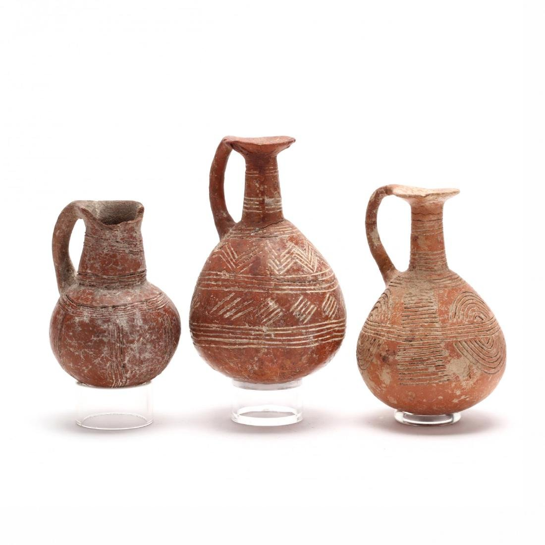 Three Cypriot Early Bronze Age Polished Red Ware