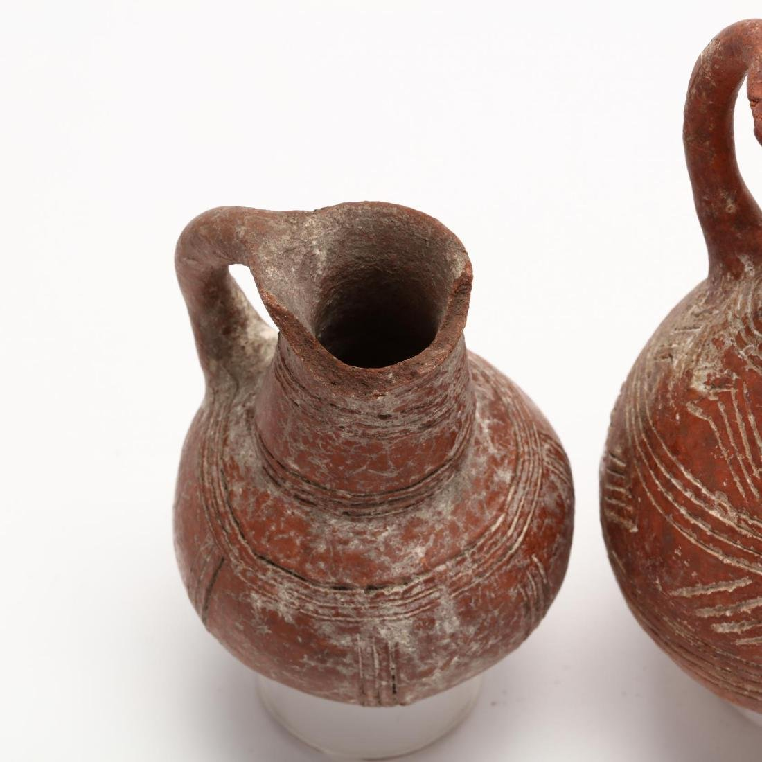 Three Cypriot Early Bronze Age Polished Red Ware - 2