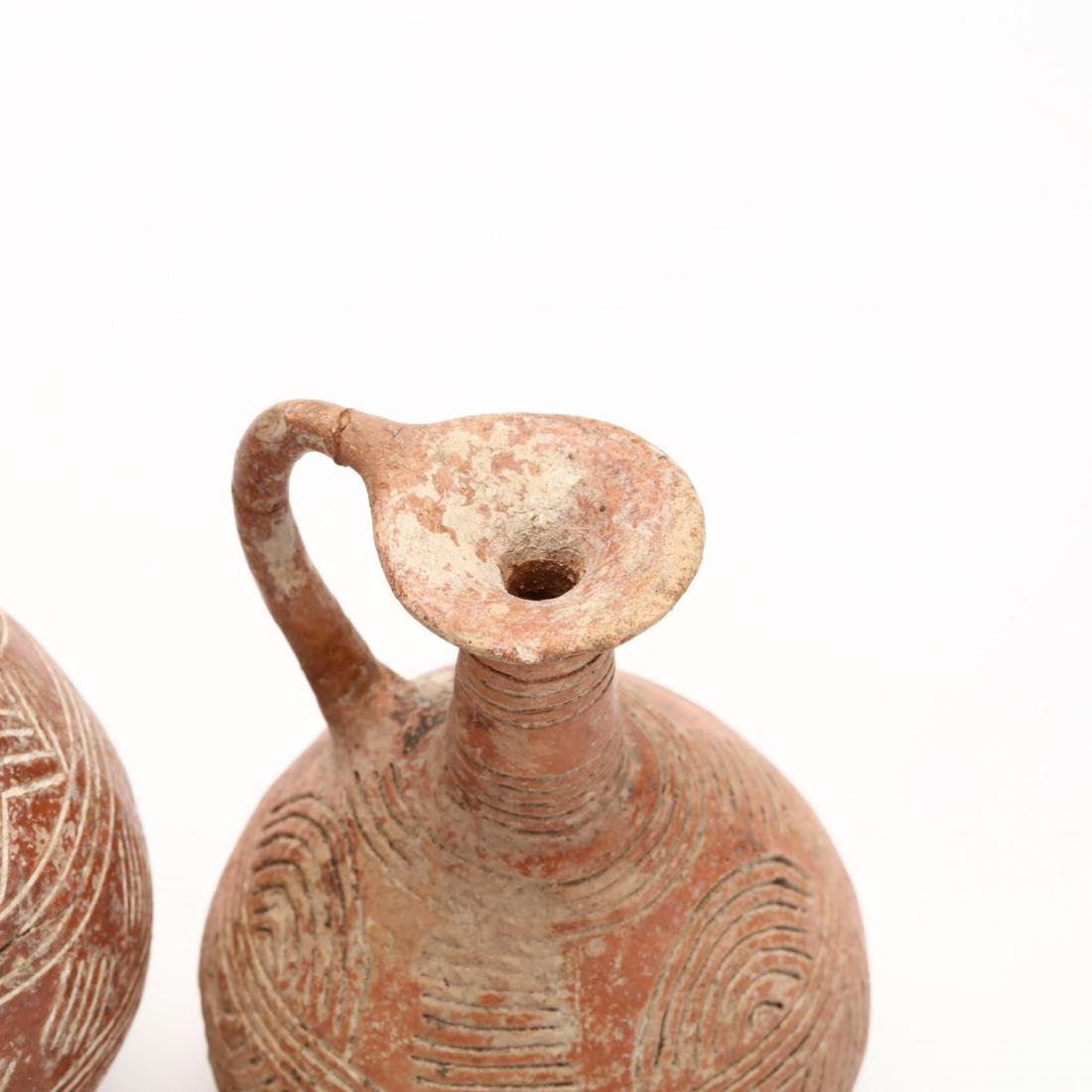 Three Cypriot Early Bronze Age Polished Red Ware - 4