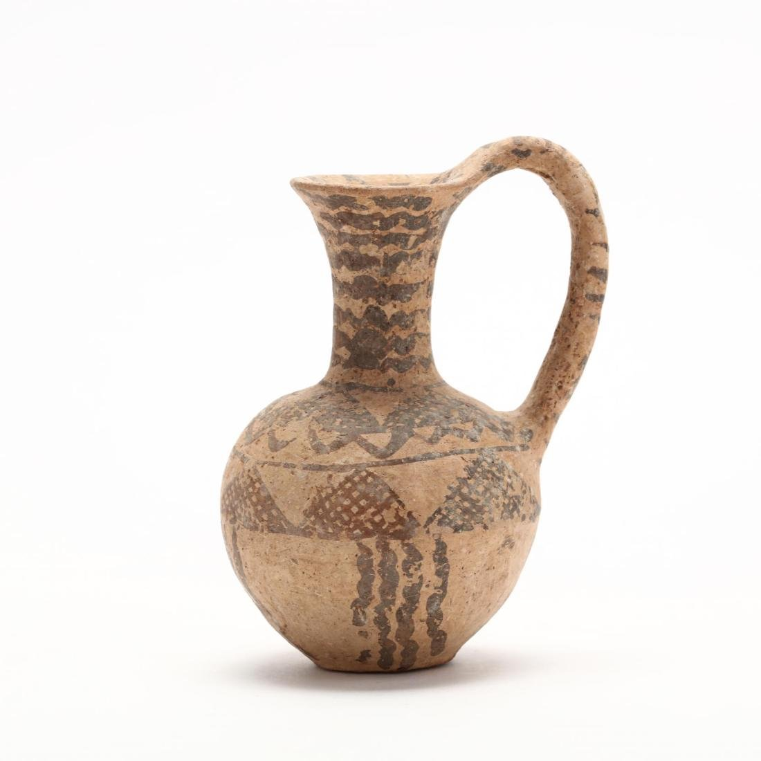 Cypriot Middle Bronze Age Bichrome Jug - 3