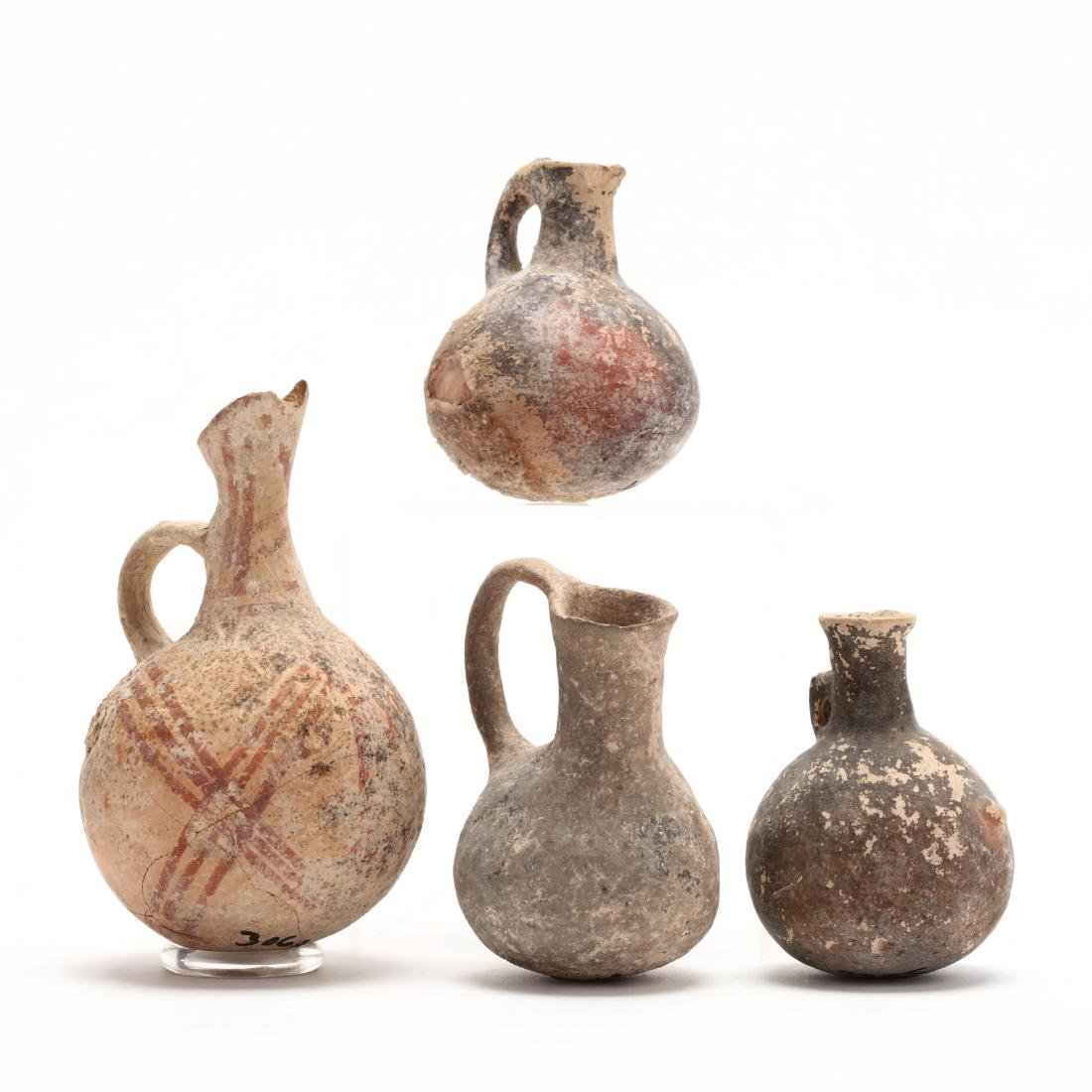 Four Cypriot Bronze Age Juglets