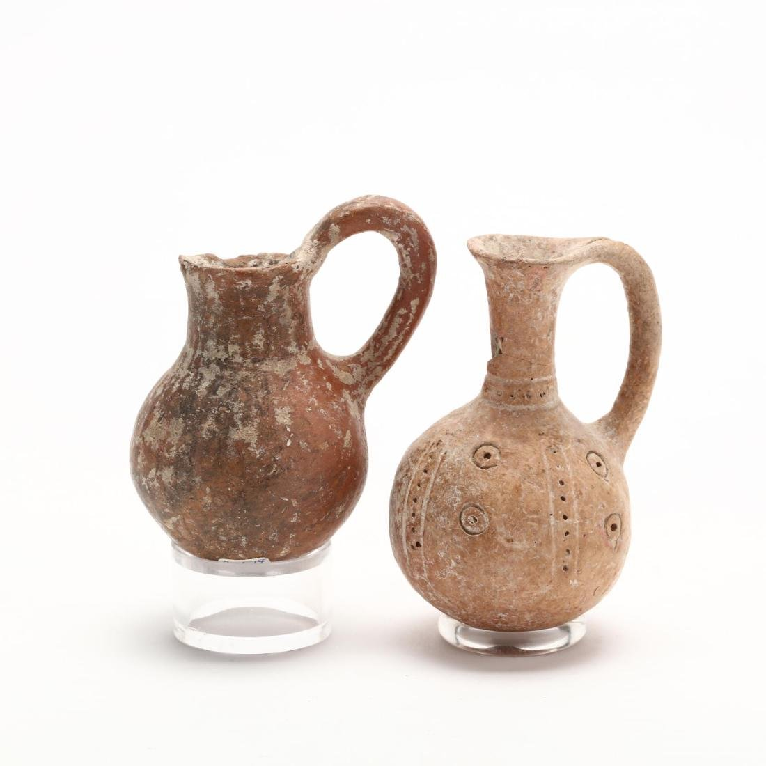 Two Cypriot Middle Bronze Age Red Ware Juglets - 3