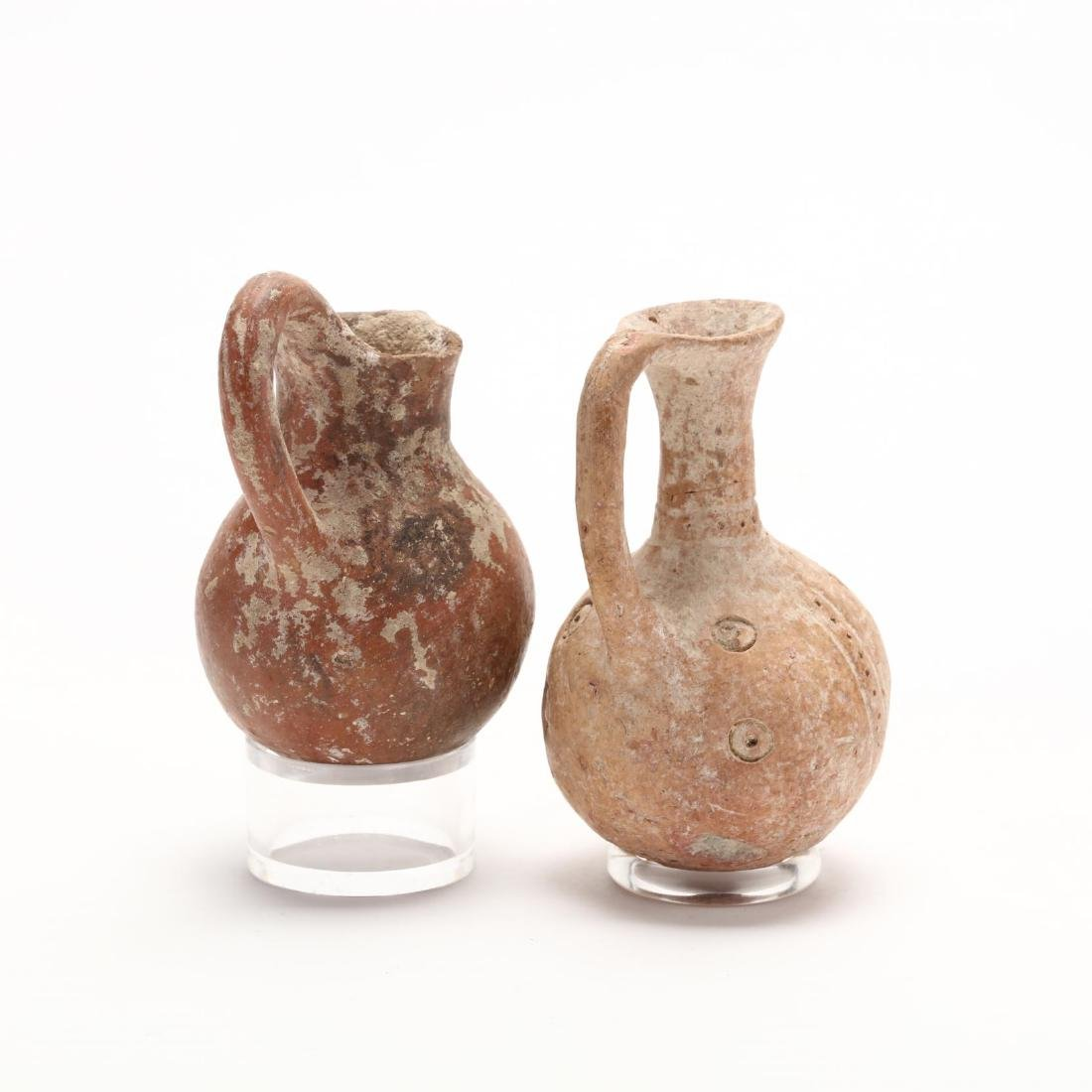 Two Cypriot Middle Bronze Age Red Ware Juglets - 4