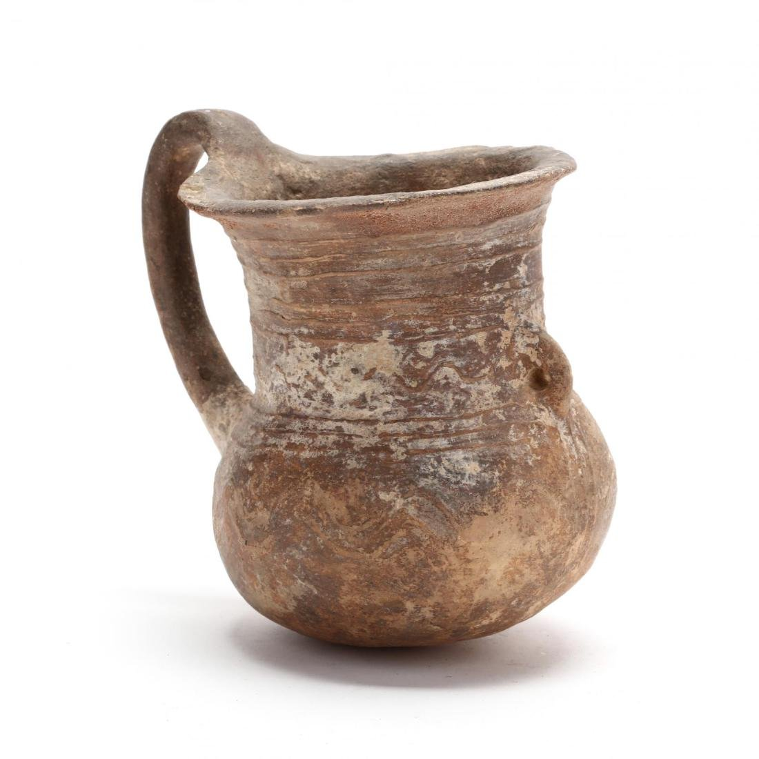 Cypriot Late Bronze Age Wide Mouth Vessel