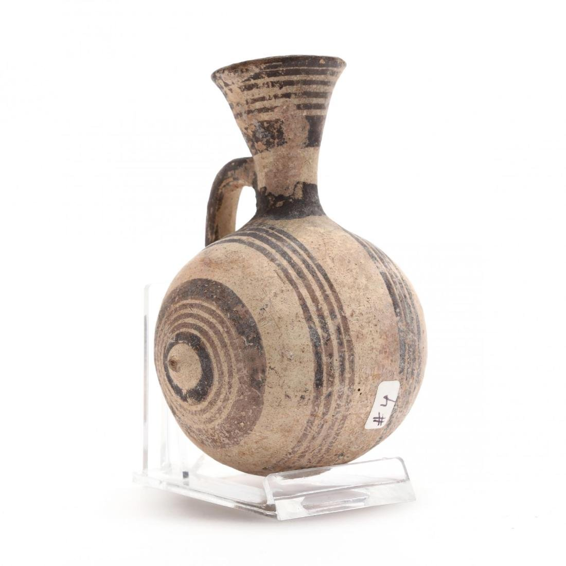 Diminutive Cypro-Geometric Barrel Jug