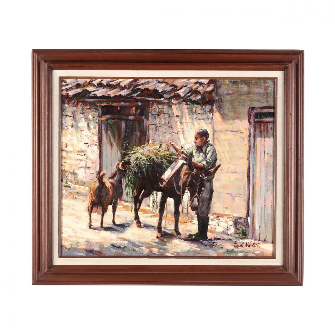 Paul Vavlitis (Cypriot-American, 1914-2004),  Coming