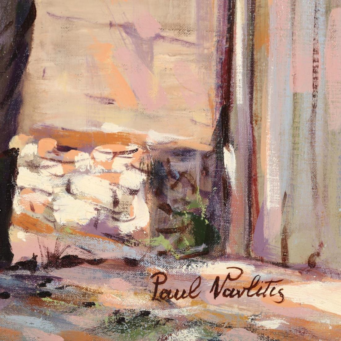 Paul Vavlitis (Cypriot-American, 1914-2004),  Coming - 2