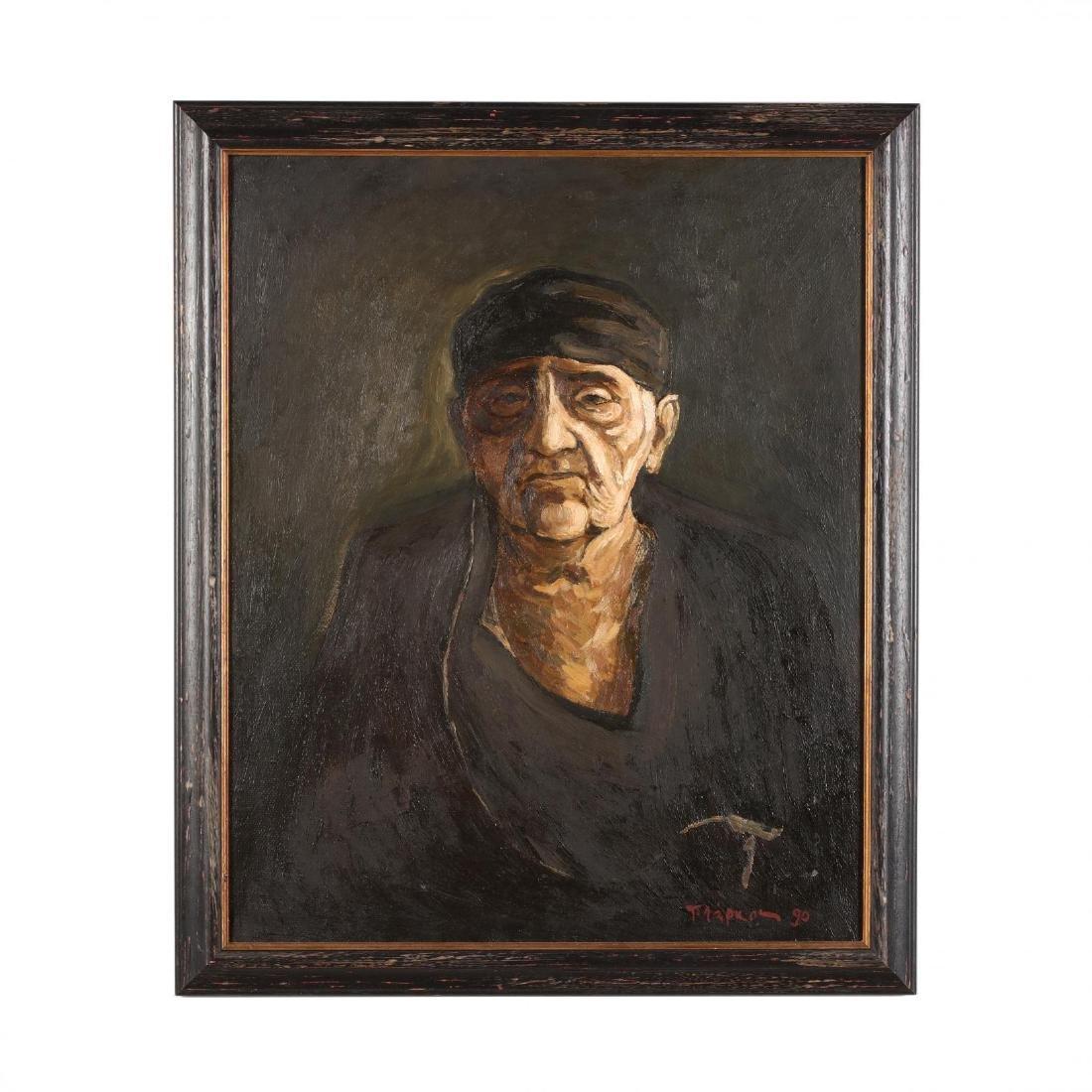 Portrait of an Elderly Greek or Cypriot Woman