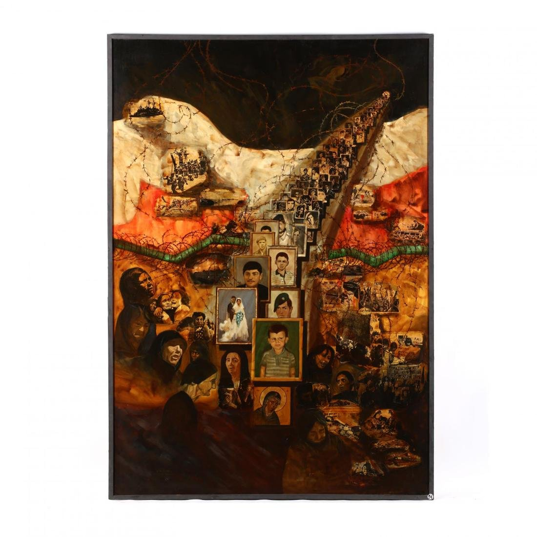 Cypriot Documentary Painting,  The Missing