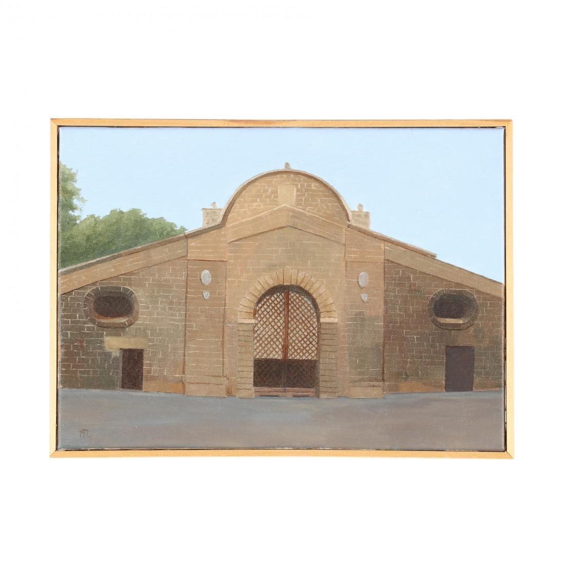 Cypriot Painting,  Famaugusta Gate, Nicosia