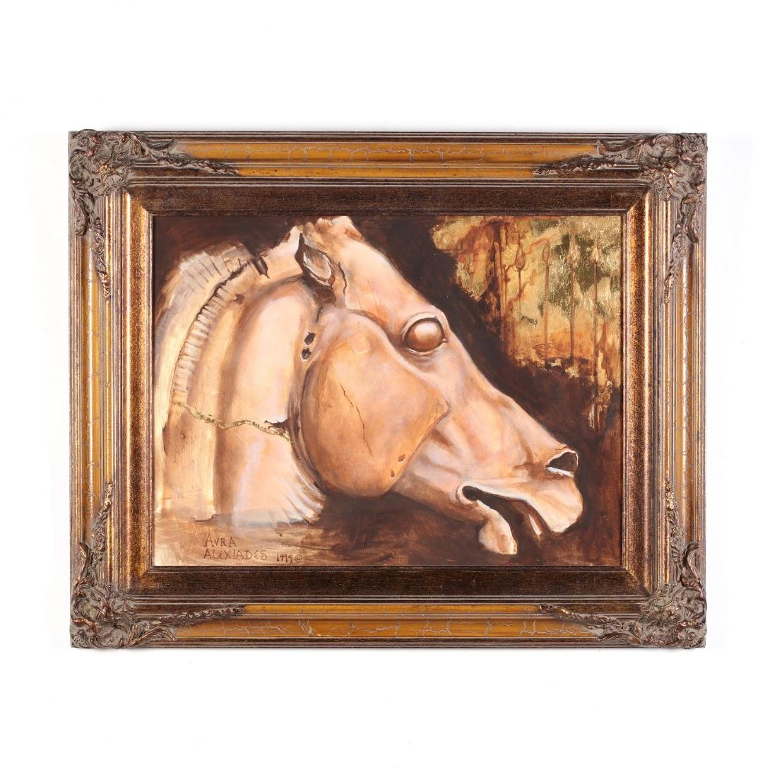 Athenian Horse, Signed by Avra Alexiades