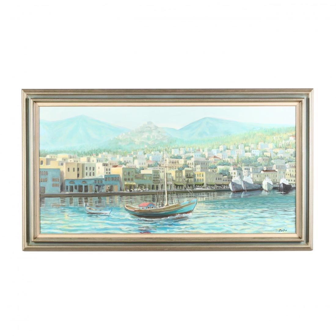 Constantine M. Constant,  Syros Water Front